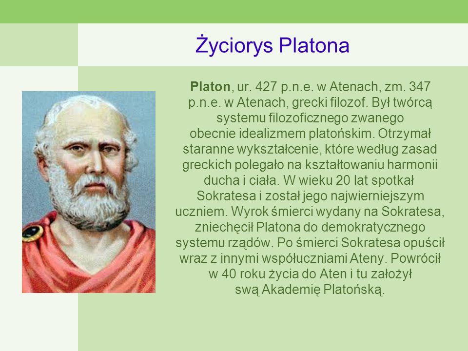 Życiorys Platona