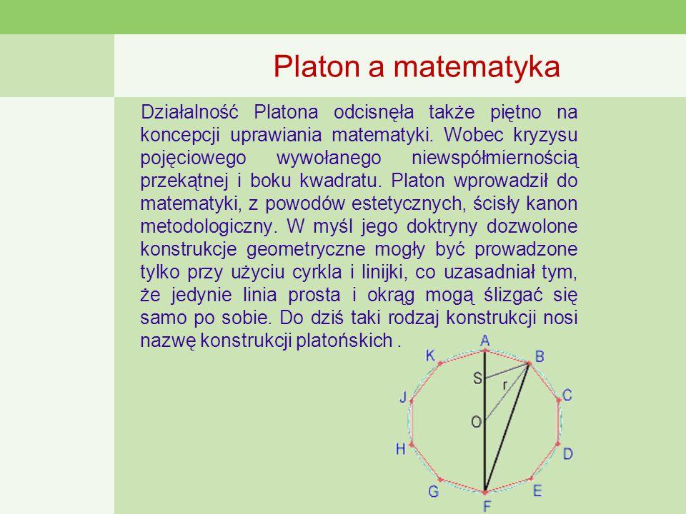 Platon a matematyka