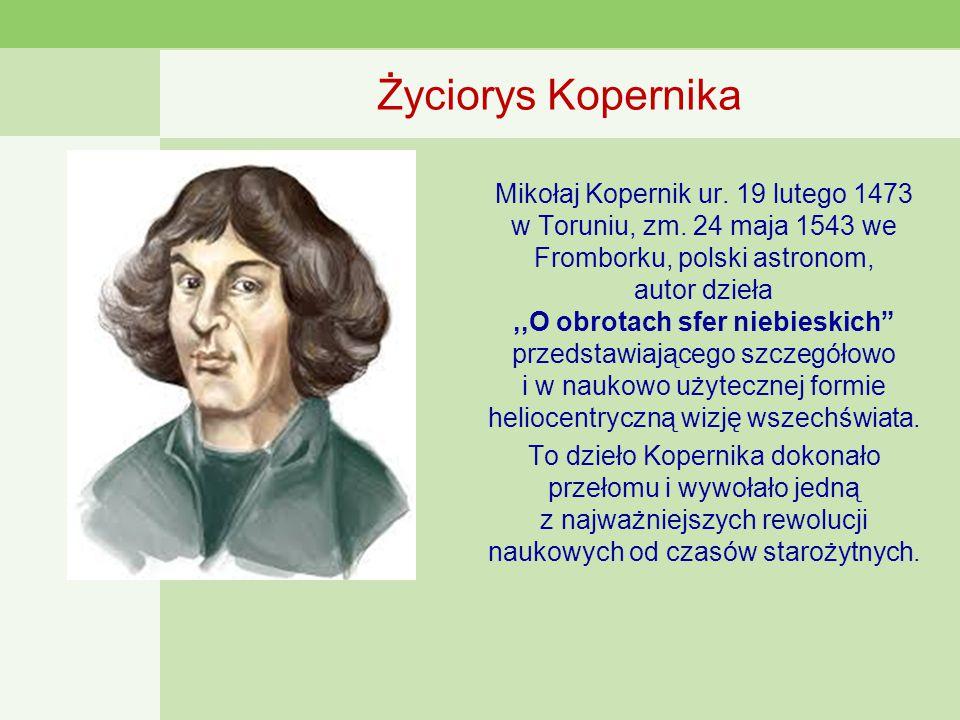 Życiorys Kopernika