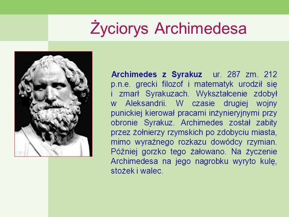 Życiorys Archimedesa