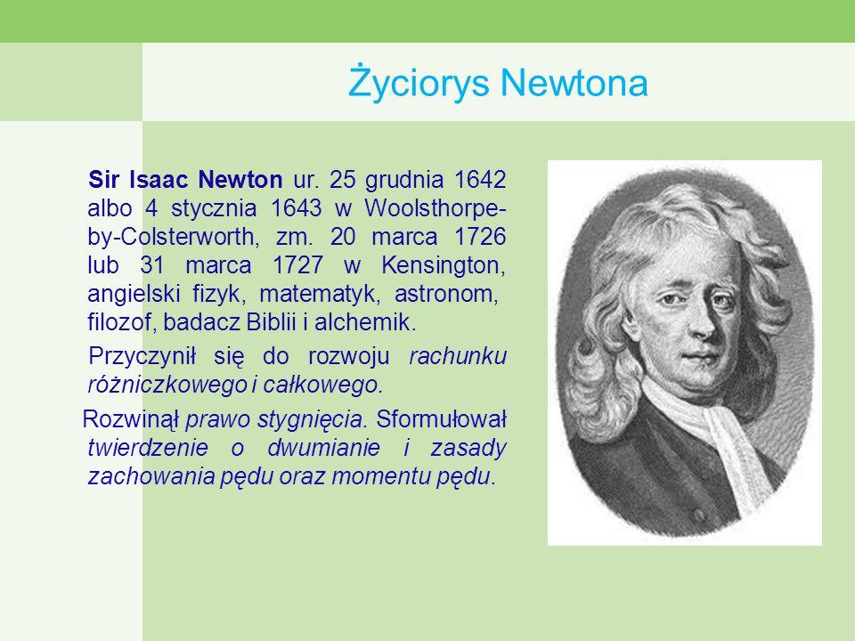Życiorys Newtona