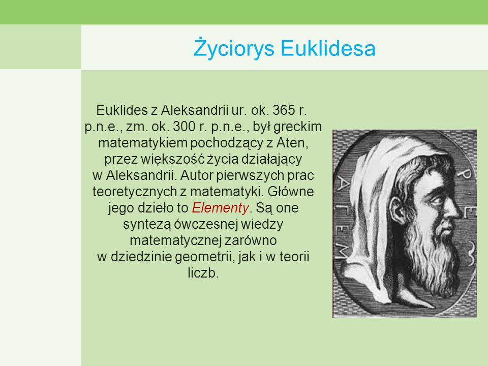 Życiorys Euklidesa