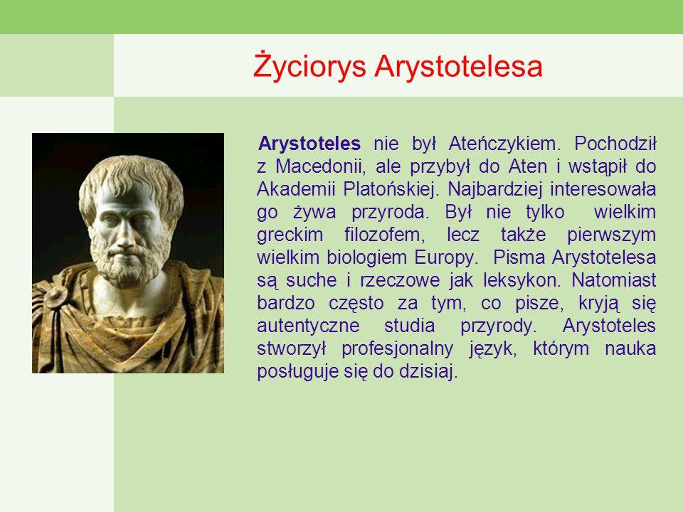Życiorys Arystotelesa