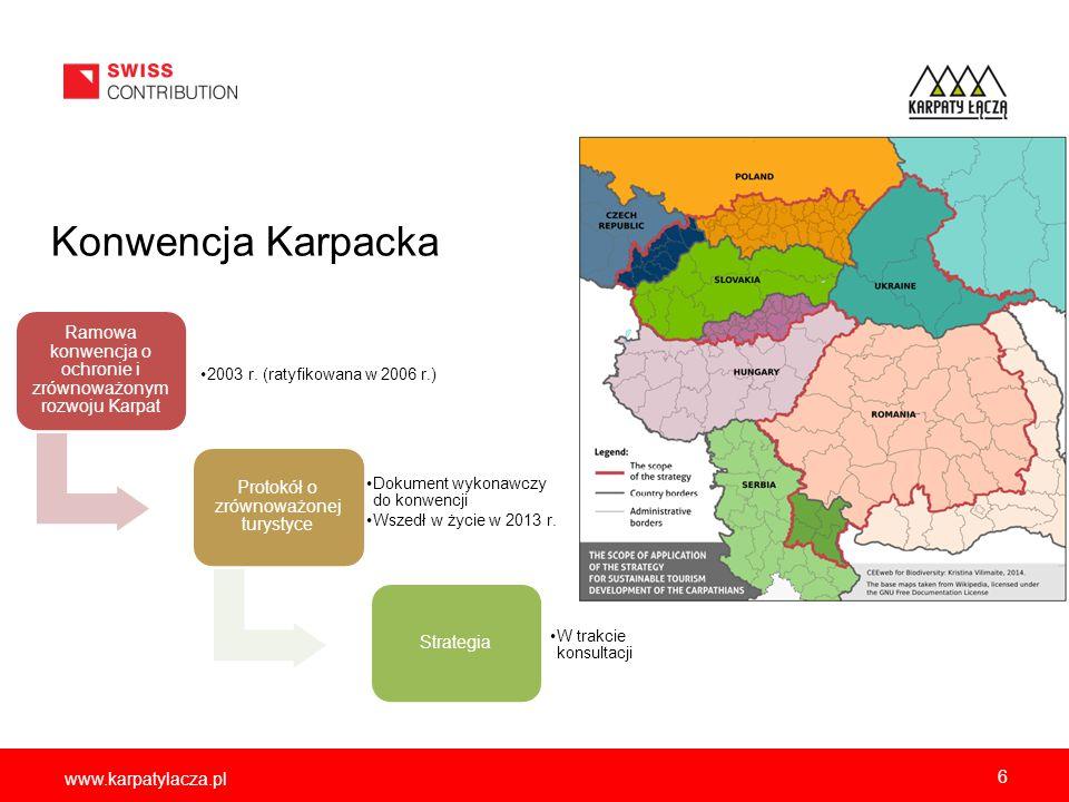 Obszary chronione w Karpatach