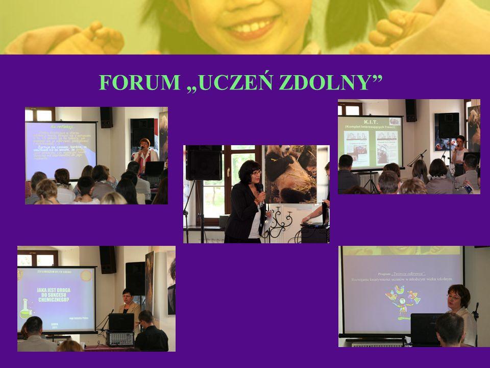 """FORUM """"UCZEŃ ZDOLNY"""