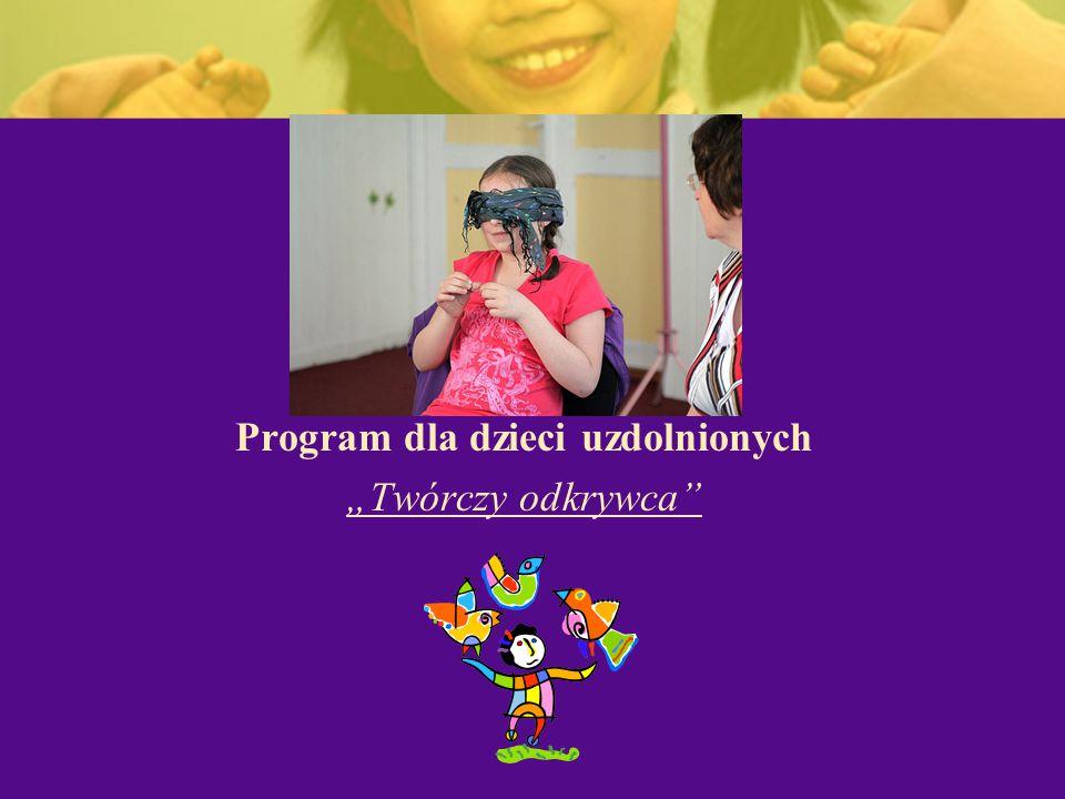 Program dla dzieci uzdolnionych
