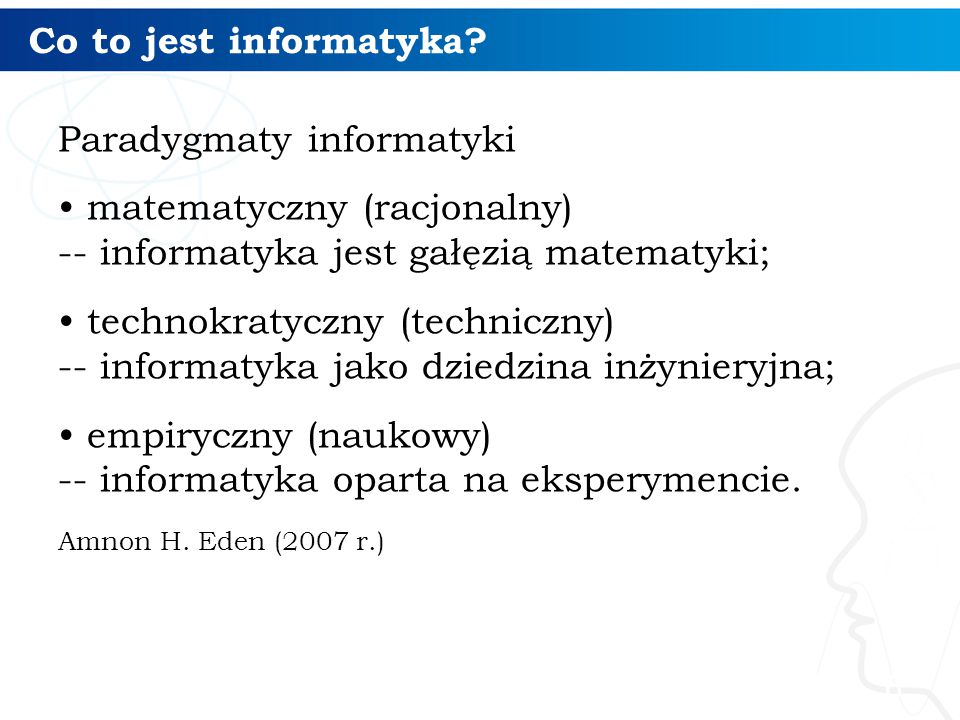 Paradygmaty informatyki