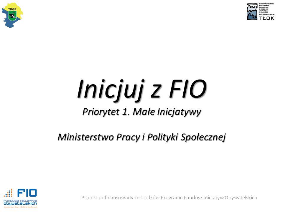 Inicjuj z FIO Priorytet 1