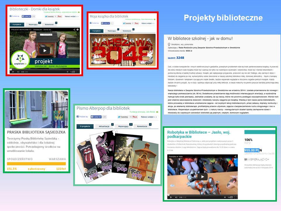 Projekty biblioteczne