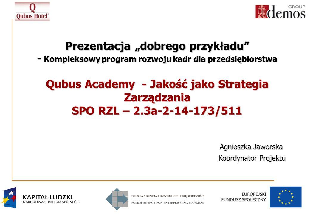 Qubus Academy - Jakość jako Strategia Zarządzania