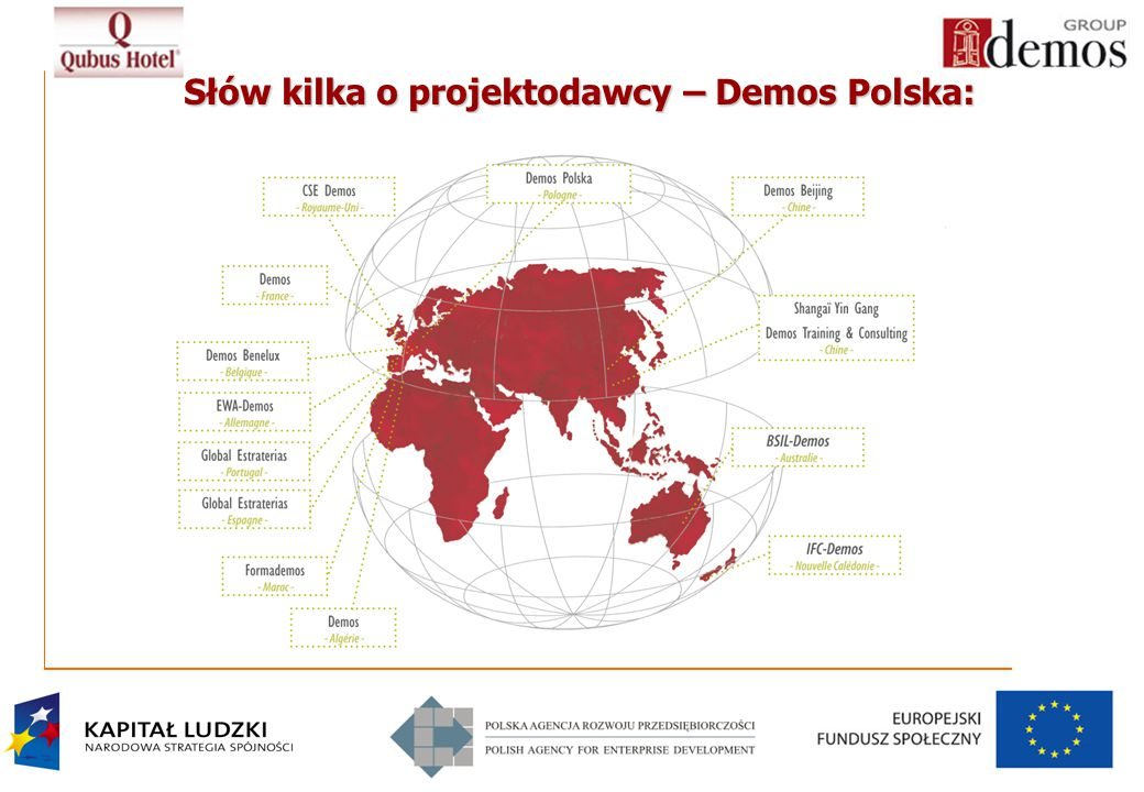 Słów kilka o projektodawcy – Demos Polska: