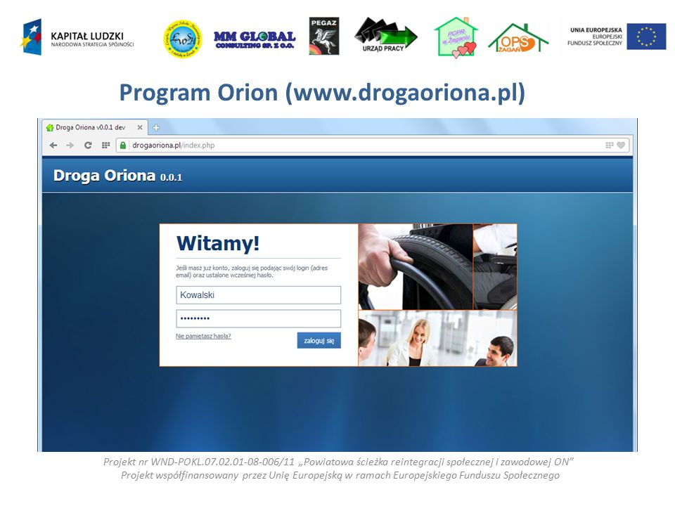 Program Orion (www.drogaoriona.pl)