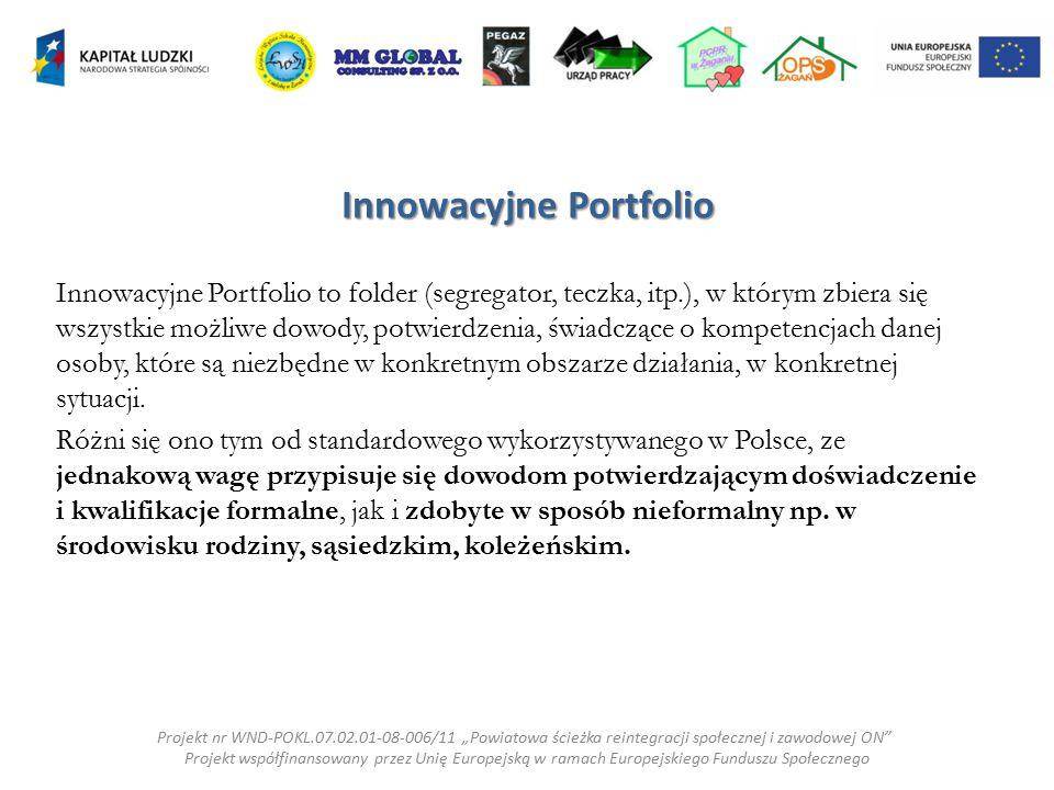 Innowacyjne Portfolio