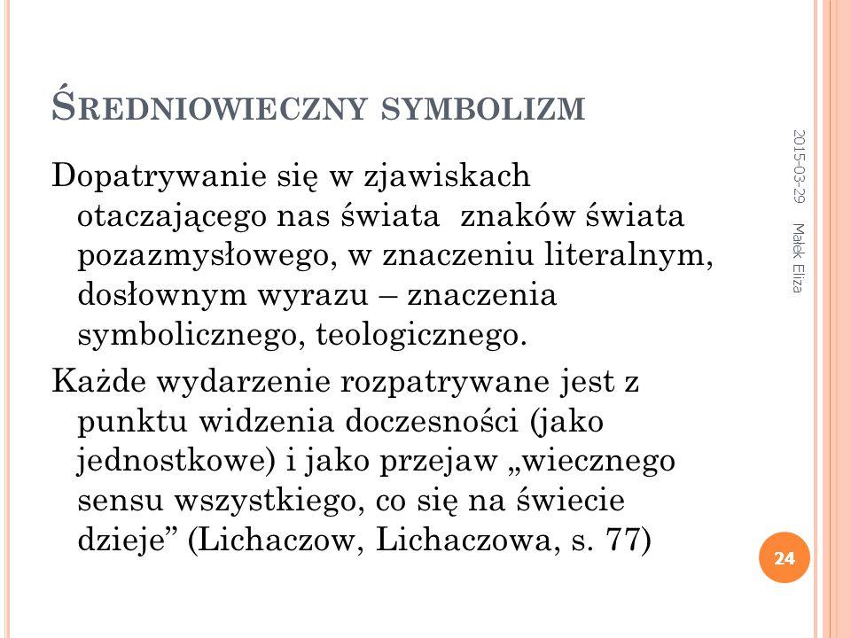 Średniowieczny symbolizm