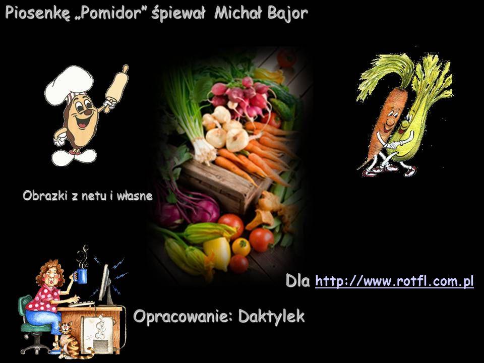 """Piosenkę """"Pomidor śpiewał Michał Bajor"""