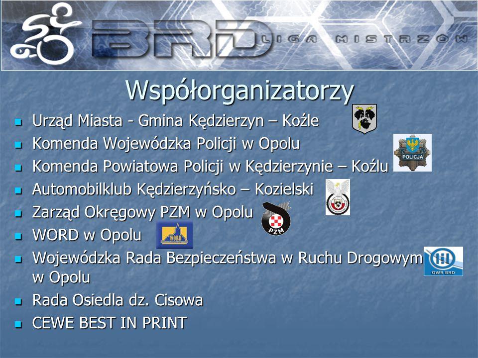 Współorganizatorzy Urząd Miasta - Gmina Kędzierzyn – Koźle