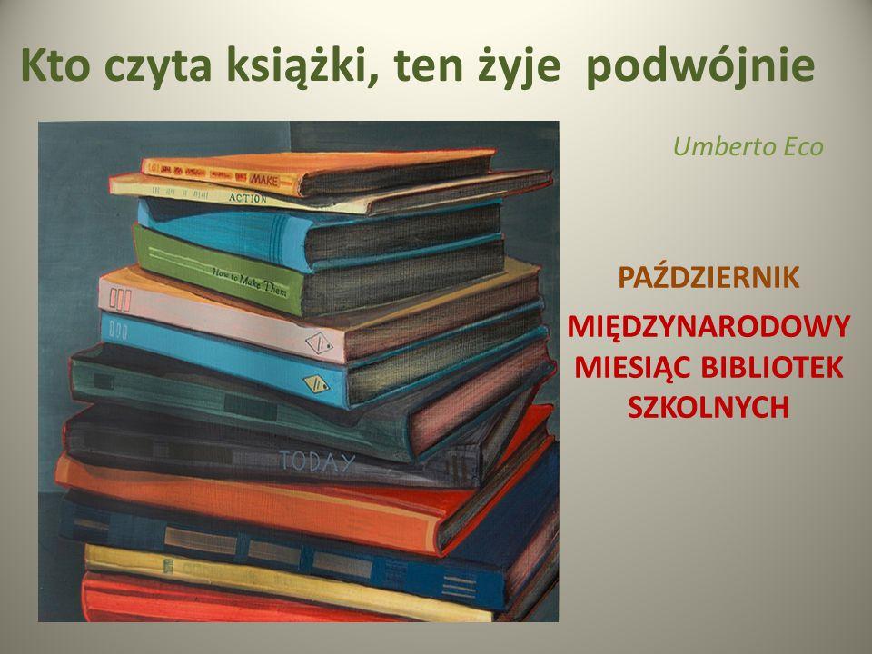Kto czyta książki, ten żyje podwójnie Umberto Eco