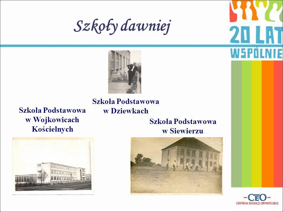 Szkoły dawniej Szkoła Podstawowa w Dziewkach