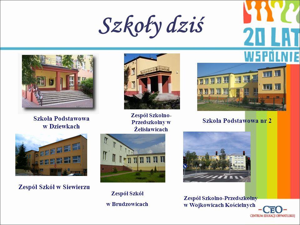 Szkoły dziś Szkoła Podstawowa w Dziewkach Szkoła Podstawowa nr 2