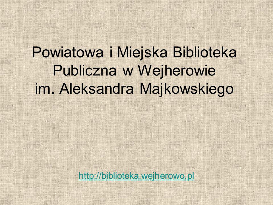 Powiatowa i Miejska Biblioteka Publiczna w Wejherowie im