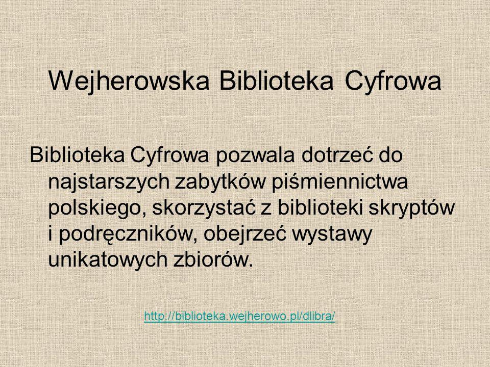 Wejherowska Biblioteka Cyfrowa