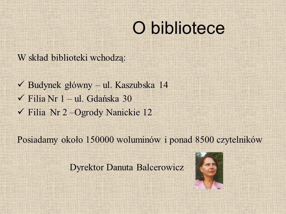O bibliotece W skład biblioteki wchodzą: