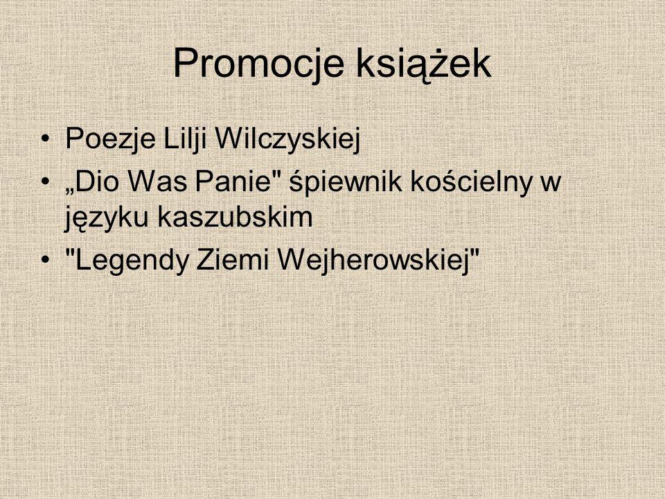 Promocje książek Poezje Lilji Wilczyskiej