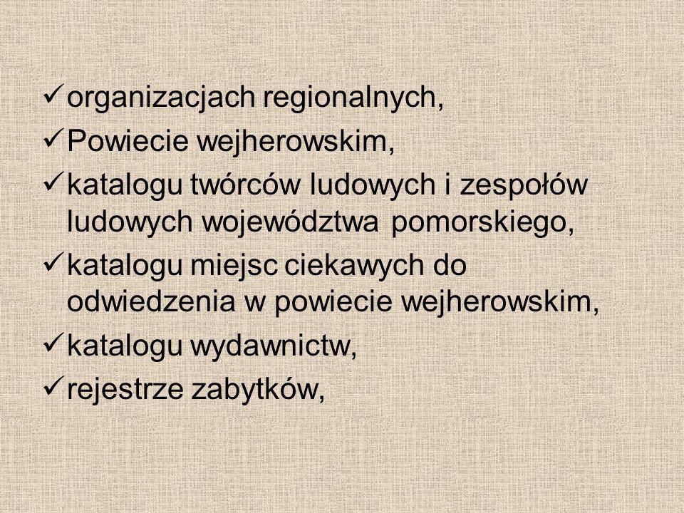 organizacjach regionalnych,