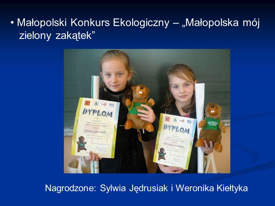 """Małopolski Konkurs Ekologiczny – """"Małopolska mój zielony zakątek"""