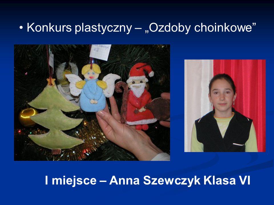 """Konkurs plastyczny – """"Ozdoby choinkowe"""