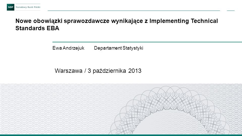 Warszawa / 3 października 2013