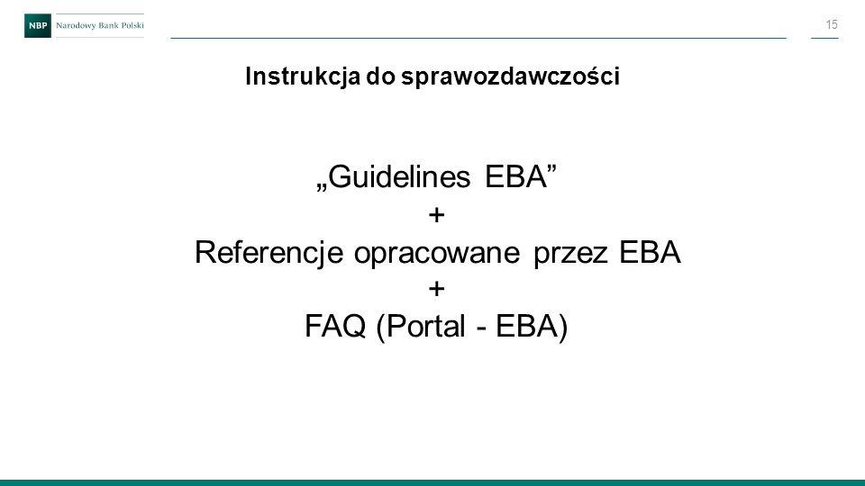 Instrukcja do sprawozdawczości