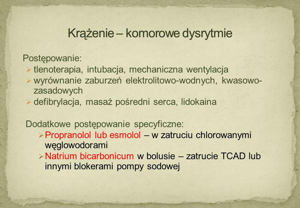 Krążenie – komorowe dysrytmie