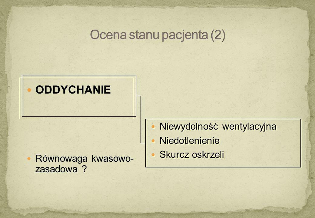Ocena stanu pacjenta (2)
