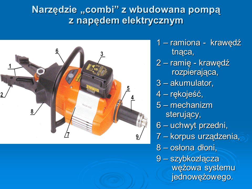 """Narzędzie """"combi z wbudowana pompą z napędem elektrycznym"""
