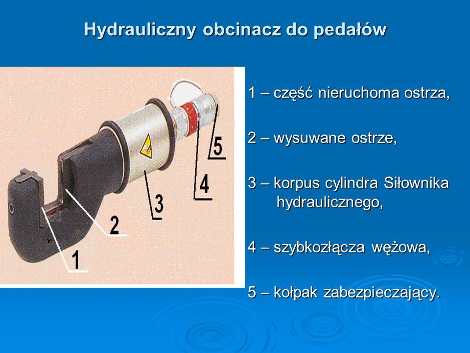 Hydrauliczny obcinacz do pedałów