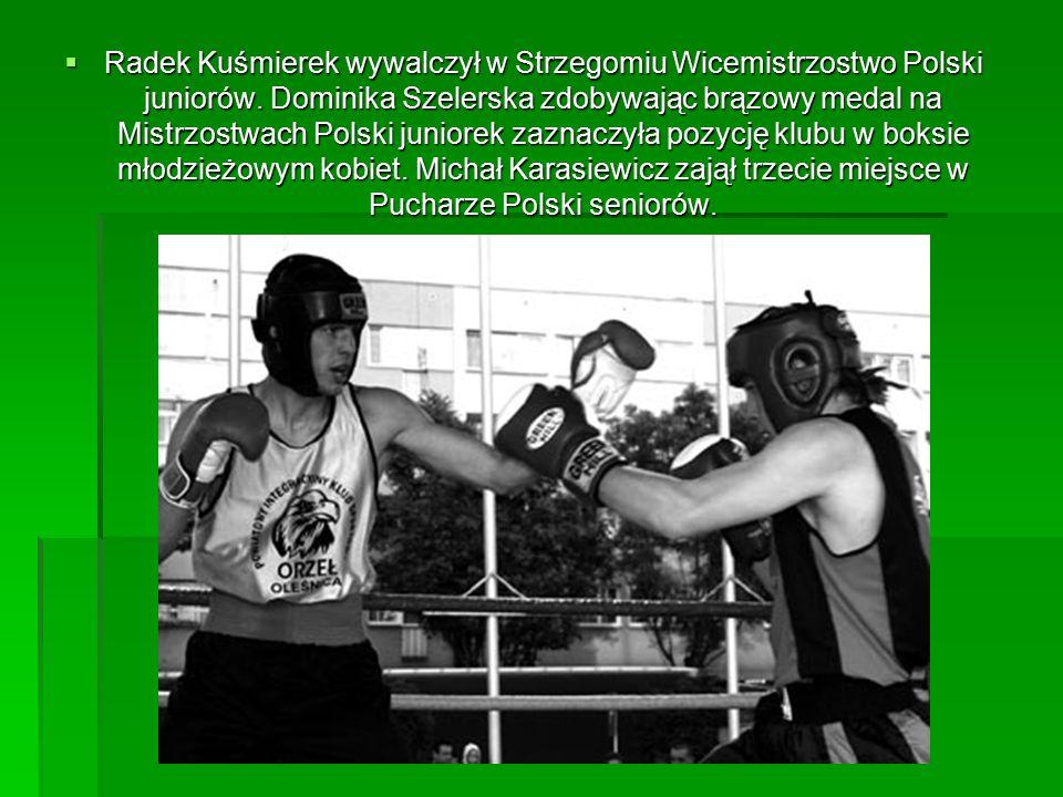 Radek Kuśmierek wywalczył w Strzegomiu Wicemistrzostwo Polski juniorów