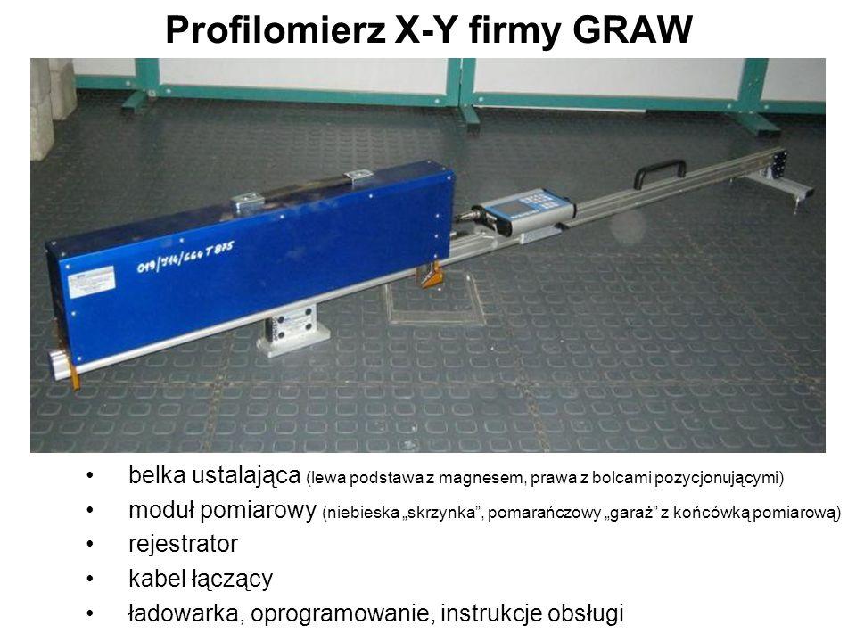 Profilomierz X-Y firmy GRAW