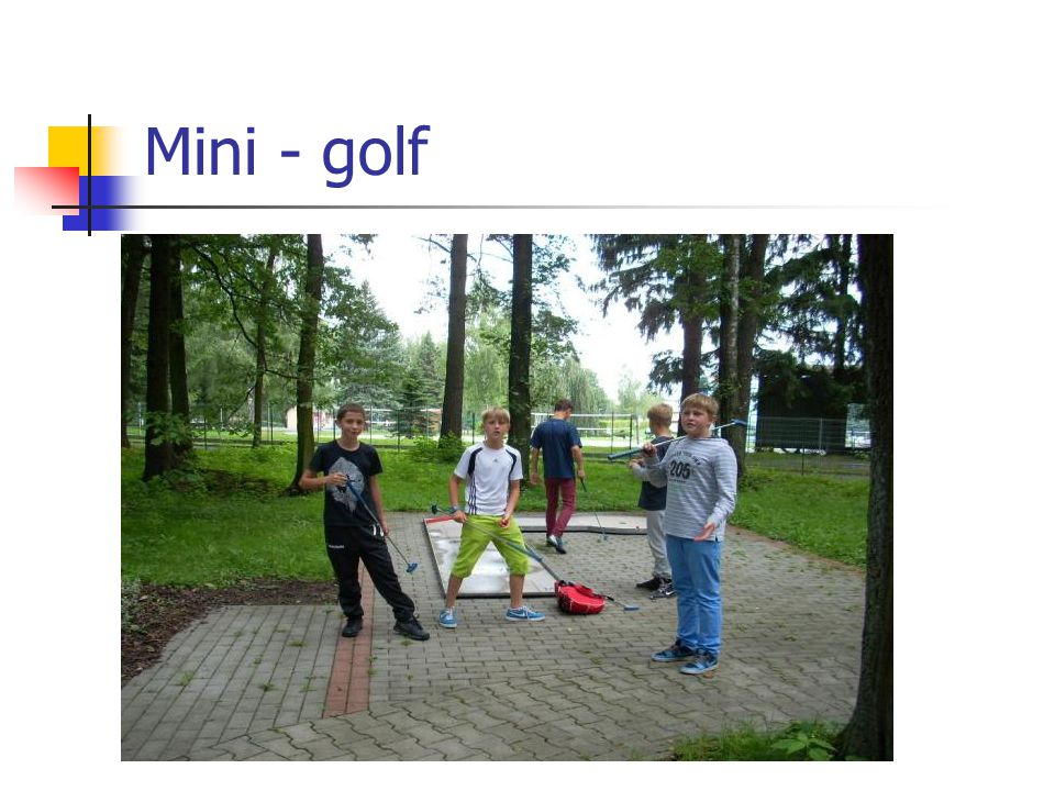 Mini - golf