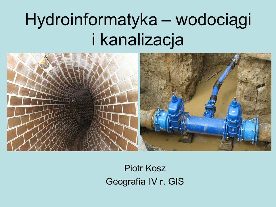 Hydroinformatyka – wodociągi i kanalizacja
