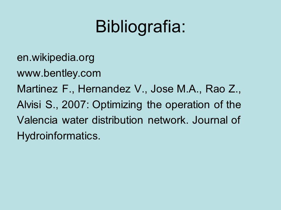 Bibliografia: en.wikipedia.org www.bentley.com