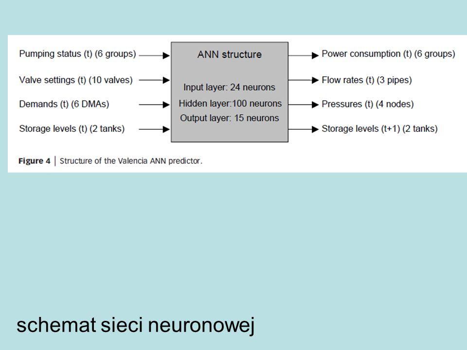 schemat sieci neuronowej