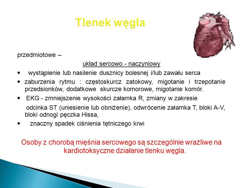 układ sercowo - naczyniowy