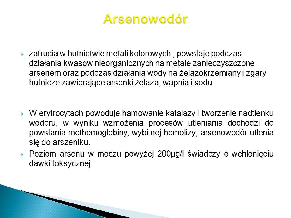 Arsenowodór