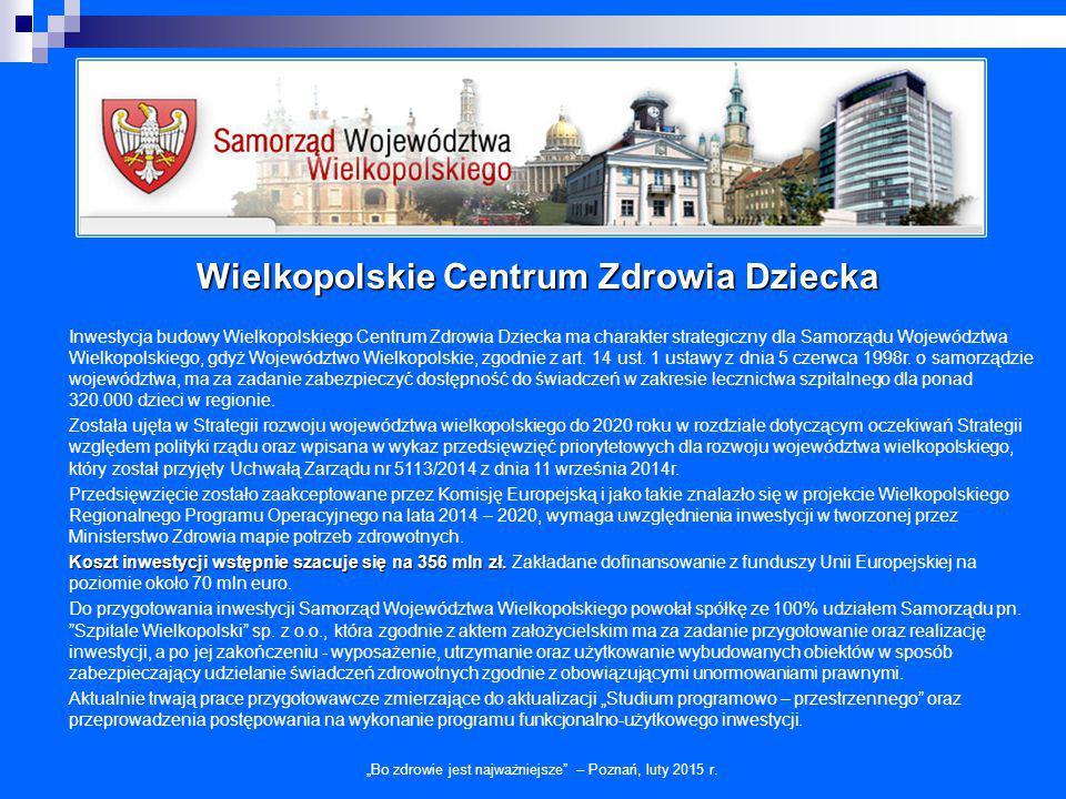 Wielkopolskie Centrum Zdrowia Dziecka