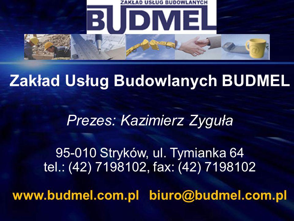 Zakład Usług Budowlanych BUDMEL