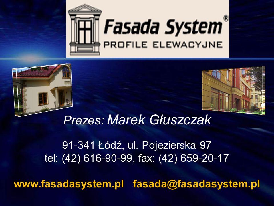 Prezes: Marek Głuszczak