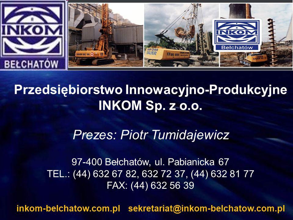 Przedsiębiorstwo Innowacyjno-Produkcyjne INKOM Sp. z o.o.