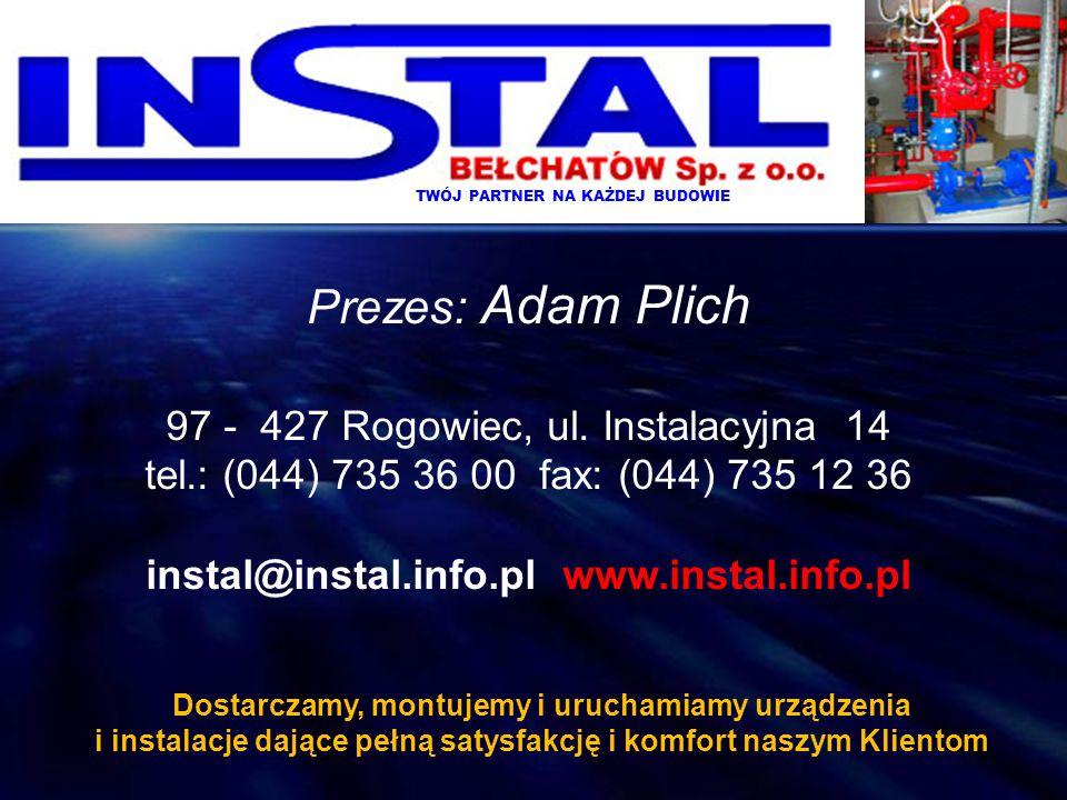 instal@instal.info.pl www.instal.info.pl