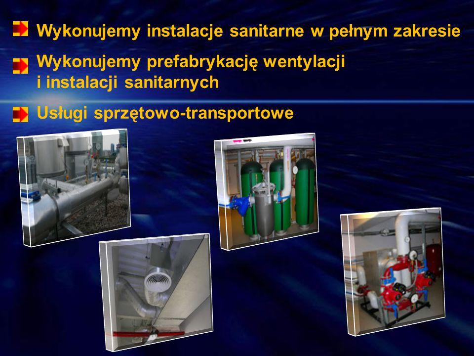 Wykonujemy instalacje sanitarne w pełnym zakresie